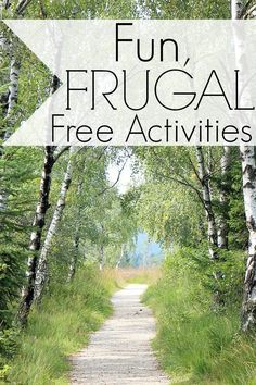 Fun, Frugal, and Free Activities. Today's post will be all about the many frugal and low-cost activities that you can do, including some free summer activities for your family, children, and friends as well.