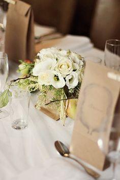 Wedding. Table decorations.