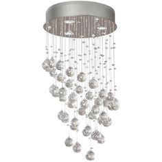 Hampton Bay Merrinee 3-Light Chrome Crystal Chandelier-03179-4 at The Home Depot $229