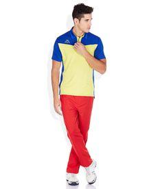 Kappa Yellow Polo T-Shirt Polo T Shirts, Gym Wear, Kappa, Tshirts Online, Polo Ralph Lauren, Workout, Yellow, Mens Tops, How To Wear