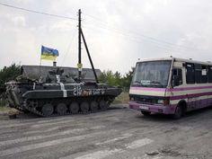 Rússia envia coluna com ajuda humanitária para o leste da Ucrânia | Tô de Olho Em Você