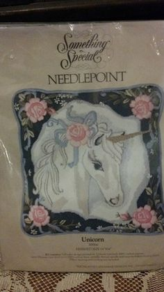 I could make a board just of unicorns in needlepoint