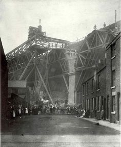 Widening the Viaduct, Stockport 1887-9