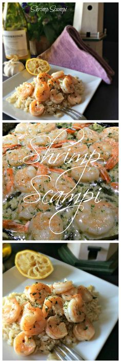 Shrimp Scampi ~ a favorite of many. This easy recipe has an added ingredient to kick up the flavor! I think you and your family will love it.