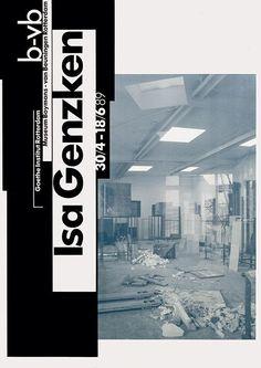 8vo / Museum Boymans-van Beuningen Rotterdam / Isa Genzken / Poster / 1989
