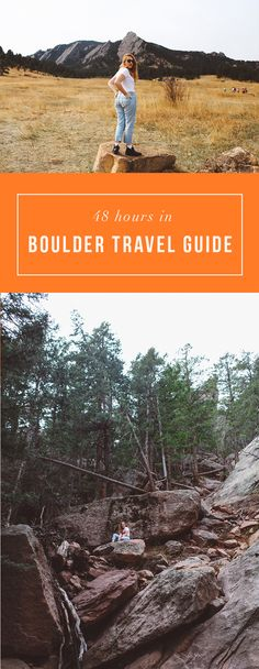 The ULTIMATE Boulder Travel guide! Everything you need to know to have the best trip to Boulder and Colorado! Read here: http://whimsysoul.com/48-hours-boulder-travel-guide/