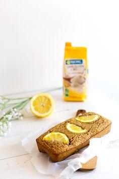 Recette sans gluten et vegan du cake au citron et aux graines de pavot