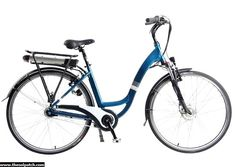 "Ladies 26"" Electric Bicycle Model: EB-14-6 ​Full size electric bicycle with pedal assistance and LED Display to monitor your battery usage. ​Pedal when, where, or if you want. The EB-14-6 charges completely in 4 or 5 hours and allows you to ride for 60-70 km / 37- 43 miles on electric power."