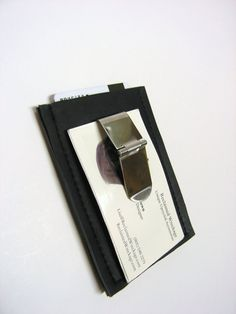 Recycled Rubber Money Clip
