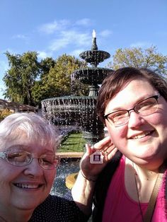 Thanks, Kay and Lynn for snapping some fun photos of the traveling key chain at the Paine Art Museum in Oshkosh, WI | www.threepillars.org