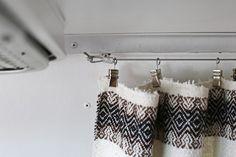 DIY Modern, Simple & Cheap Airstream Curtain Replacement – Mavis the Airstream