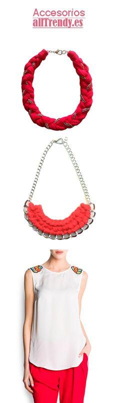 Alltrendy completa el look para el Masai top #Moda #Collares http://alltrendy.es/