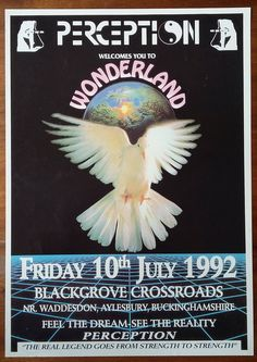 poster Check out this high-res gallery of rare early rave flyer art- so many Posters Conception Graphique, Retro Images, New Poster, Band Posters, Graphic Design Posters, Logo Design Inspiration, Techno, Poster Prints, Cover