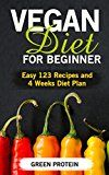 Free Kindle Book -   Vegan: Vegan Diet for Beginner: Easy 123 Recipes and 4 Weeks Diet Plan (High Protein, Dairy Free, Gluten Free, Low Cholesterol, Vegan Cookbook, Vegan Recipes, Cast Iron, Easy 123 Diet Book 1)