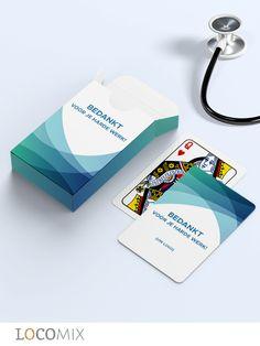 Op 12 mei is het de Dag van de Zorg. Zoekt u een origineel presentje om het zorgpersoneel te bedanken voor hun enorme inzet tijdens deze coronatijd? Ga voor onze gepersonaliseerde speelkaarten! Een potje kaarten zorgt gegarandeerd voor ontspanning na een heftige werkdag. U kunt het doosje en de achterkant van de speelkaarten helemaal zelf ontwerpen. Zet er bijvoorbeeld een persoonlijke bedank-tekst op. #dagvandezorg #zorgpersoneel #zorg #zakelijk #bedankje