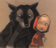 Le Petit Chaperon rouge - written and illustrated by Jean Claverie