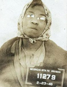 The Only Woman Electrocuted in Georgia's Electric Chair    Such is the story of Lena Baker, an African-American mother of three, who was electrocuted at the Georgia State Prison in Reidsville.    She was convicted for the fatal shooting of E. B. Knight, a white Cuthbert, Georgia mill operator she was hired to care for after he broke his leg.  Click the pic for more info on her story...