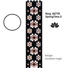 peyote ring patternPDF-Download Ring SpringTime 277R 2