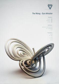 Inspiration ▶▶▶ Math {Rules : Strange Attractors \\ Designer {Chaotic Atmospheres