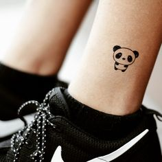 All tattoo lovers are always on the hunt for their next tattoo. Whether you are looking for a large or a small tattoo, colorful or all-black ink, simple or very prominent, you are at the right place! In today's article, we are bringing you Best Panda Tattoo Designs you need… Black Ink Tattoos, Mini Tattoos, Small Tattoos, Girly Tattoos, Tribal Tattoos, Form Tattoo, Shape Tattoo, Tattoo Stickers, Cute Animal Tattoos