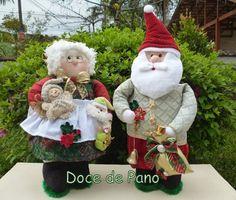 Papai Noel e Mamãe Noel