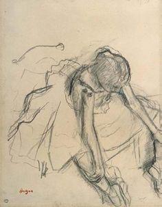 Edgar Degas elarteylamujereneldepote: Degas