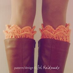 Lucy Boot cuff, boot toppers, boot socks and leg warmers Crochet Pattern PDF Photo tutorial PDF Include : - Text instructions in American Standard Terms - Knitted Boot Cuffs, Crochet Boots, Knit Boots, Crochet Slippers, Crochet Scarves, Knit Crochet, Crochet Leg Warmers, Boot Toppers, Crochet Accessories
