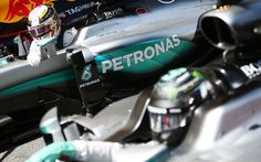 No penalties for Hamilton and Rosberg after clash - F1technical.net