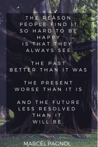 Live in the present! Such a powerful quote.