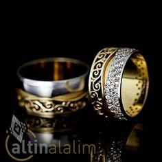 Sarmal Görünümlü Özel Tasarım  Altın Alyans : www.altinalalim.com #altin #altinalyans #gift