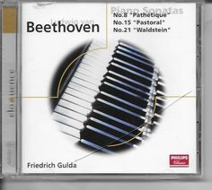 Beethoven Piano Sonatas Nos 8 15 21 22 Friedrich Gulda Classical Music CD Music:CDs www.internetauctionservicesllc.com $12.99
