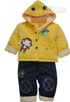 Wholesale Children's clothing Fall and winter clothes children wear baby clothes newborn baby boy jacket suit, Free shipping, $27.0-33.97/Set | DHgate Cute Baby Boy Outfits, Baby Outfits Newborn, Baby Boy Newborn, Kids Outfits, Winter Baby Clothes, Baby Kids Clothes, Baby Winter, Children Wear, Kids Wear