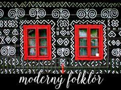 čičmany v červenom Barns Sheds, Other Rooms, Our Kids, Design Inspiration, Embroidery, Holiday Decor, Frame, Handmade, Cabin