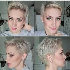 Image result for different ways to style a pixie cut
