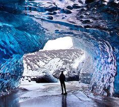 Iceland ice cave! by Orvar Thorgeirsson