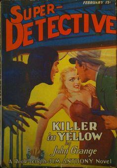 Super Detective, Feb. 1941 - H.J. Ward