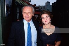 Sir Anthony Hopkins has a cold response when asked about the possibility of his estranged daughter Abigail's having kids. First Daughter, Father And Son, Sir Anthony Hopkins, George Clooney, Life Pictures, Picture Collection, Handsome, Singer, Actresses