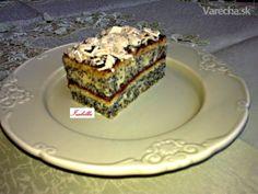 Jednoduché makové rezy (fotorecept) Phyllo Dough, Pastry Cake, Tiramisu, Food And Drink, Pie, Ethnic Recipes, Desserts, Heaven, Basket