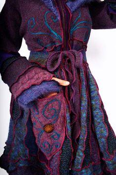 Fantastic original upcycled coats from Katwise