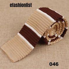 Men's Classic Striped Knitted NeckTie – efashionlist