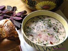 Bors de primavara cu loboda Cheeseburger Chowder, Supe, Food, Meals