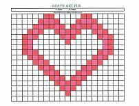 Kids activity pages that make graph art easy enough for preschoolers. No coordinates, just simple color-by-number pages. Make a train, lion, butterfly, holiday pictures and more. Preschool Graphs, Preschool Printables, Preschool Activities, Learning Colors, Learning Centers, Free Coloring Pages, Coloring Sheets, Graph Paper Art, Valentines Day Coloring