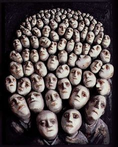 Evelyn Williams  People Waiting, 1986