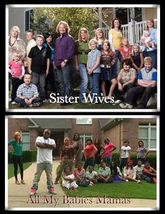 `What's the Difference? Cody Brown actually takes responsibility for his wives and kids.......