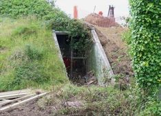 Some time in this bunker was built in Britain to serve as a bomb-proof shelter for civilians. Having completed its mission, the bunker started Underground World, Underground Bunker, Bunker Home, Before And After Pictures, Abandoned Buildings, Bouldering, Wwii, Beautiful Homes, Diys