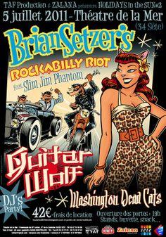 Brian Setzer's Rockabilly Riot - 5 July 2011