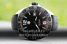 WatchObsession's TAG HEUER F1 Watch Giveaway - June 2017  now finished  free watch, racing Lewis Hamilton, luxury, prize draw, competition, Maclaren, Steve Mcqueen, precision, black, time, Omega, Rolex, IWC,