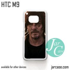 Norman Reedus as Daryl Dixon - Z Phone Case for HTC One M9 case and other HTC Devices