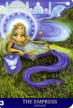 Albumarchiv - New Aura Soma Tarot Meditation Pictures, The Empress, Major Arcana, Auras, Oracle Cards, Tarot Decks, Tarot Cards, Reiki, Mystic