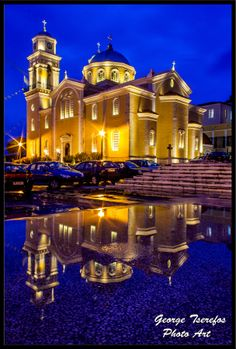 GREECE CHANNEL | Church in the water by George Tserefos on 500px kalamata
